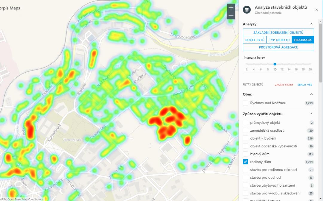 Odhalte svůj obchodní potenciál z dat stavebních objektů