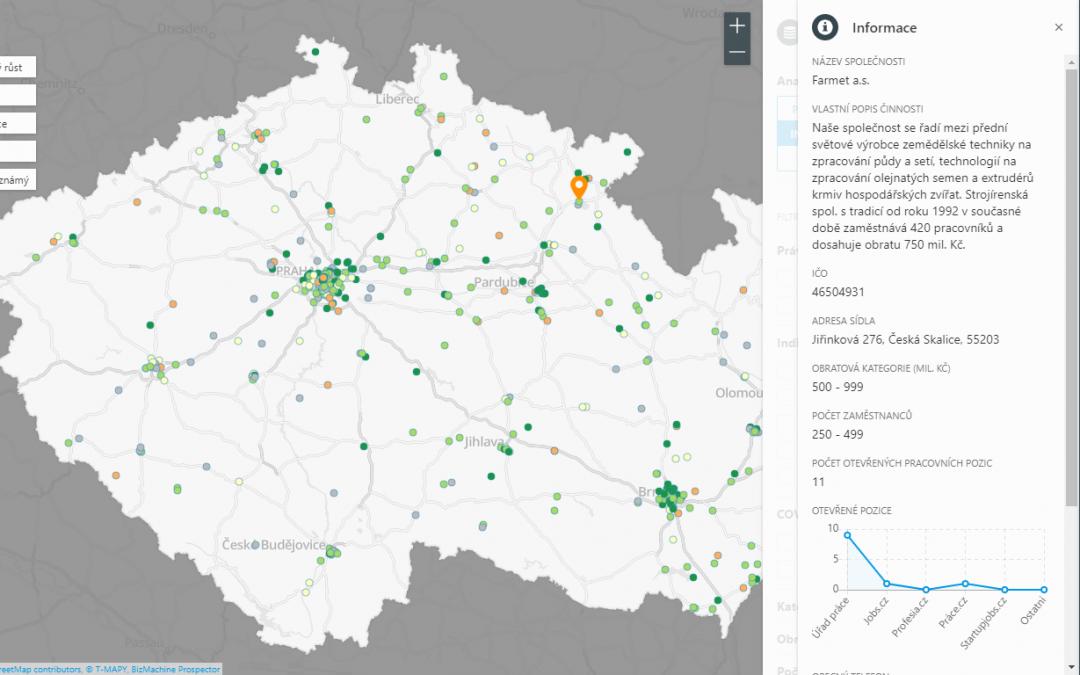 Manuál: Analýza dat o firmách z BizMachine Prospector