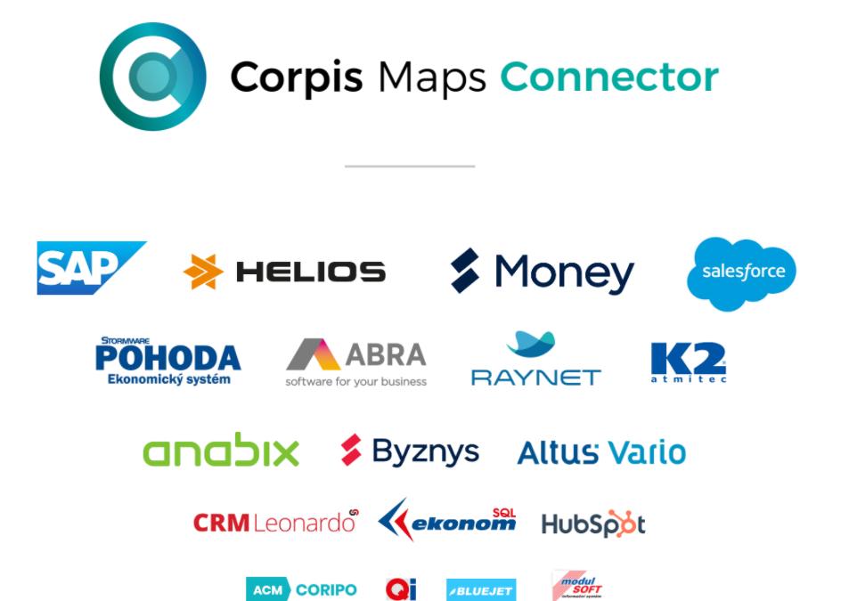Představujeme Corpis Maps Connector a nový textový filtr