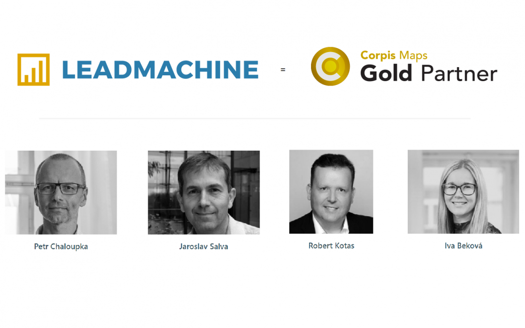 LEADMACHINE becomes a Gold Partner of Corpis Maps
