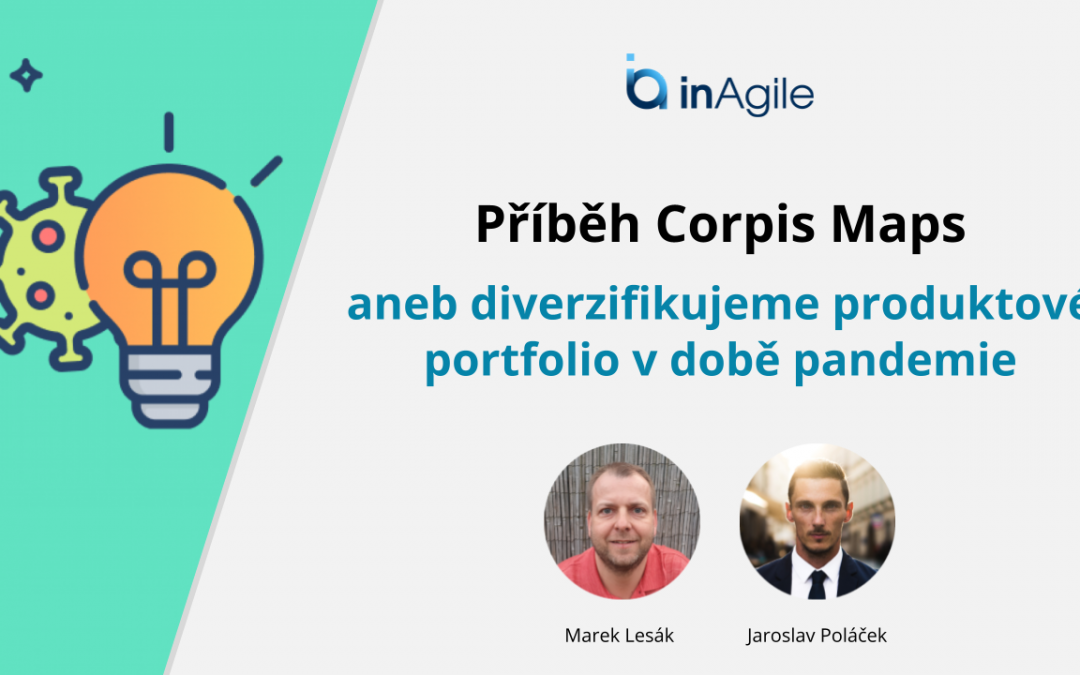 Corpis Maps at the inAgile conference on August 24, 2021